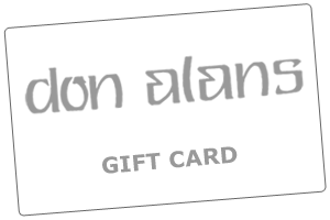 Don Alans Menswear in Pensacola - Gift Card