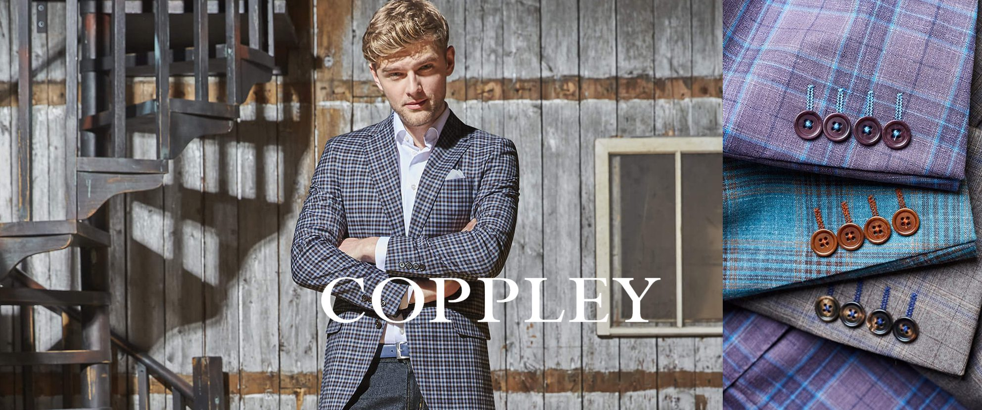 Don Alans Menswear - Pensacola: Coppley Suits